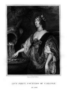 Lucy Hay, Countess of Carlisle, English Socialite by TA Dean