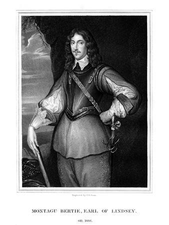 Montagu Bertie, 2nd Earl of Lindsey