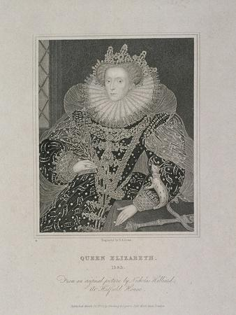 Queen Elizabeth I with an Ermine, 1821