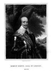 Robert Bertie, 1st Earl of Lindsey by TA Dean