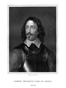 Robert Devereux, 3rd Earl of Essex by TA Dean