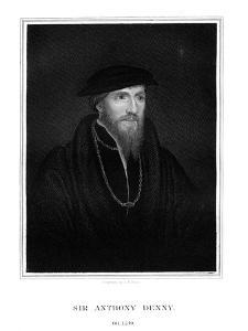 Sir Anthony Denny, Courtier of Henry VIII by TA Dean