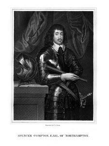 Spencer Compton, 2nd Earl of Northampton, Royalist Soldier by TA Dean