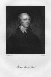 Thomas Grenville (1755-184), British Politician and Bibliophile, 19th Century by TA Dean