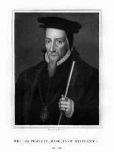 William Paulet, 1st Marquess of Winchester, English Statesman by TA Dean