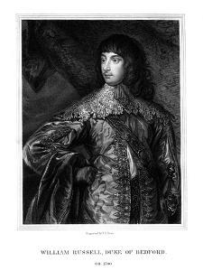 William Russell, 1st Duke of Bedford, British Soldier by TA Dean