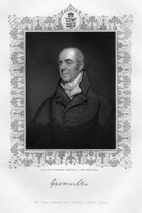 William Wyndham Grenville (1759-183), 1st Baron Grenville, English Politician, 19th Century by TA Dean