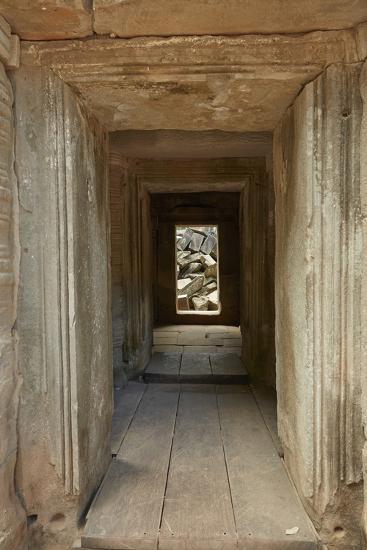 Ta Prohm Temple Ruins, Angkor World Heritage Site, Siem Reap, Cambodia-David Wall-Photographic Print