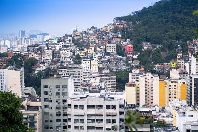 Tabajaras Favela, Rio De Janeiro, Brazil, South America-Alex Robinson-Photographic Print