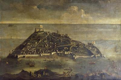Tabarca Island, Painting by Unknown Venetian Artist, Tunisia, 17th Century--Giclee Print