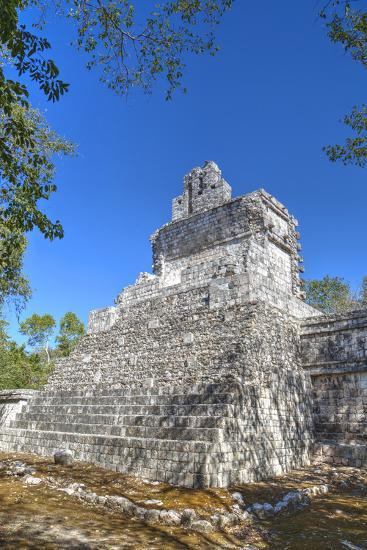 Tabasqueno, Mayan Archaeological Site, Chenes Style, Campeche, Mexico, North America-Richard Maschmeyer-Photographic Print