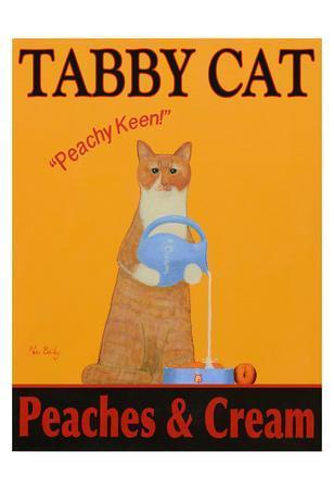 Tabby Cat Peaches & Cream-Ken Bailey-Limited Edition