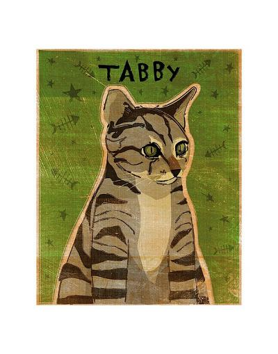 Tabby (grey)-John Golden-Art Print