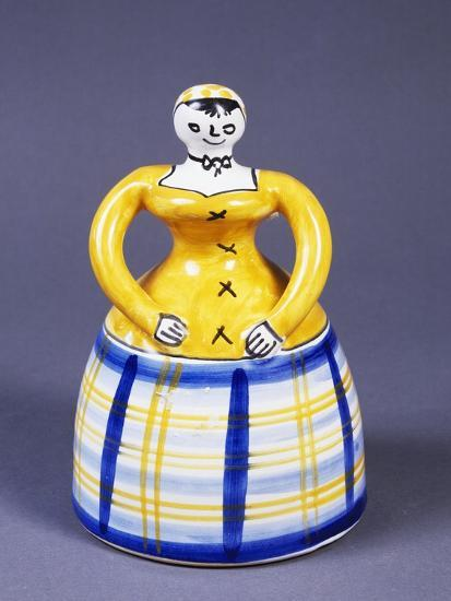 Table Bell in the Shape of a Woman from the Region of Toledo--Giclee Print
