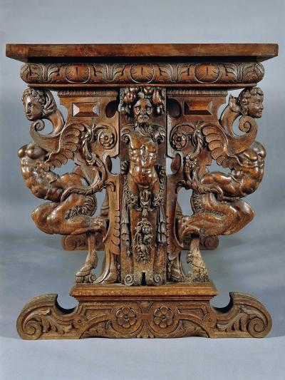 Table Carved with Grotesques, Ca 1570--Giclee Print