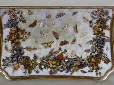 Table : L'Air-Giuseppe Zocchi-Giclee Print