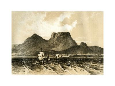 Table Mountain, Cape of Good Hope, South Africa, 1883--Giclee Print