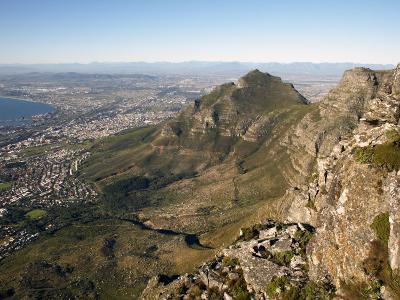 Table Mountain, Cape Town, South Africa, Africa-Andrew Mcconnell-Photographic Print
