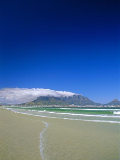 Table Mountain from Bloubergstrand, Cape Town, South Africa-Fraser Hall-Photographic Print
