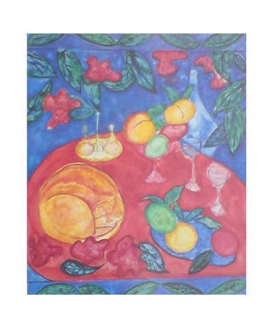 Table of Eden-Gemma Cotsen-Art Print