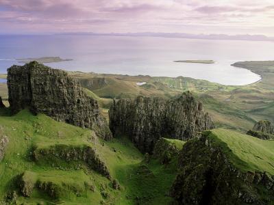 Table, Prison, the Quiraing, Trotternish, Isle of Skye, Highlands, Scotland, United Kingdom, Europe-Patrick Dieudonne-Photographic Print