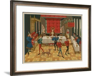 Table Service of a Lady of Quality--Framed Giclee Print