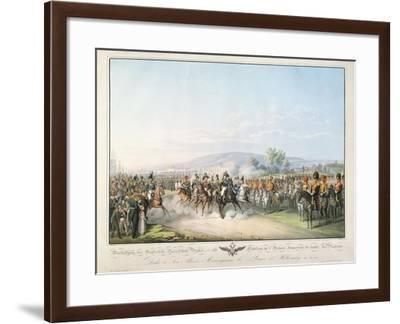 Tableau De L'Armee Imperiale De Toute Les Russies, from 'Tableau Des Armees De L'Europe'-Georg Emanuel Opitz-Framed Giclee Print