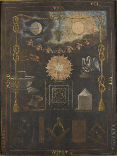 Tableau du chapître du quatrième ordre ou tapis de loge--Giclee Print