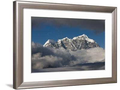 Taboche in the Everest Region Seen Here from Yeti Mountain Home at Kongde-Alex Treadway-Framed Photographic Print