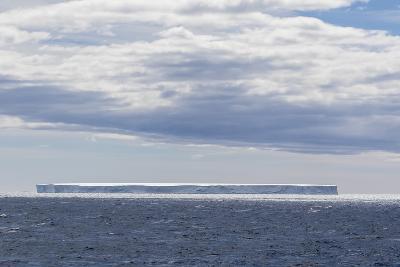 Tabular Iceberg in the Gerlache Strait, Antarctica, Polar Regions-Michael Nolan-Photographic Print