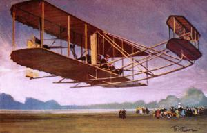 The Wright Brothers by Tacconi