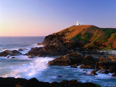 Tacking Point at Sunrise, Port Macquarie, New South Wales, Australia-Ross Barnett-Photographic Print