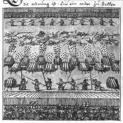 Tactical Use of Artillery: Direct Firing--Giclee Print