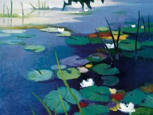 Water Lilies by Tadashi Asoma