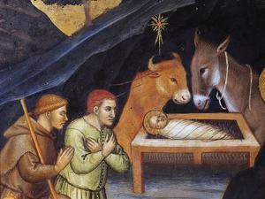 Adoration of Magi by Taddeo di Bartolo