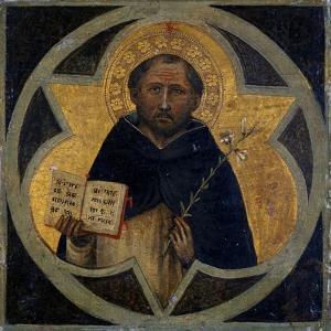 St. Dominic, C.1400 by Taddeo di Bartolo