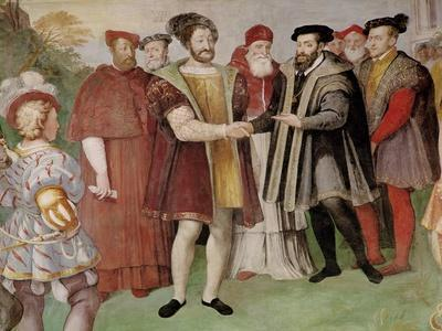 The Truce of Nice Between Francis I (1494-1547) and Charles V (1500-58)