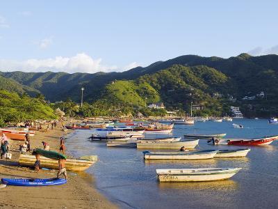 Taganga, Caribbean Coast, Colombia, South America-Christian Kober-Photographic Print