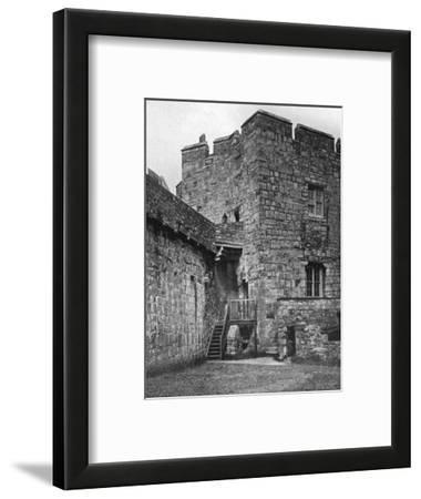 Castle Rushen, Castletown, Isle of Man, 1924-1926