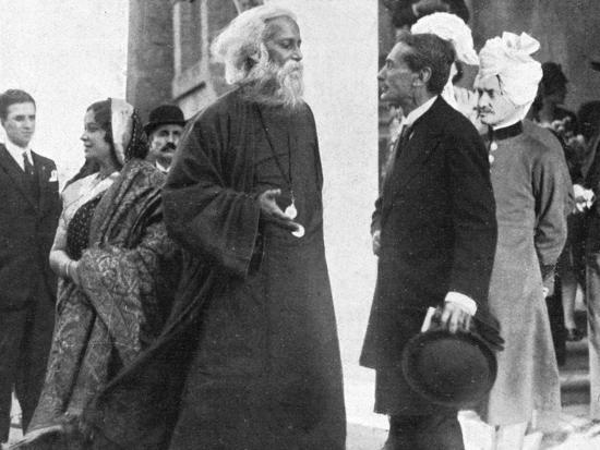 Tagore in Italy-A Bruni-Photographic Print