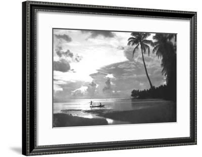 Tahiti, 1938--Framed Art Print