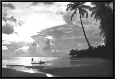 Tahiti, 1938--Framed Canvas Print