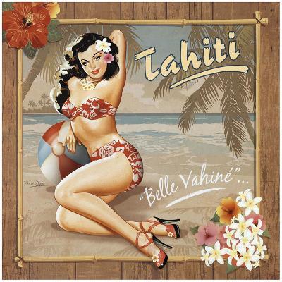 Tahiti-Bruno Pozzo-Art Print