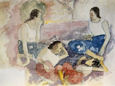 Tahitian Women, from Noa Noa, Voyage a Tahiti, Published 1926-Paul Gauguin-Giclee Print