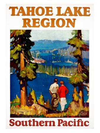 Tahoe Lake Region Southern Pacific