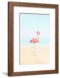 Flamingo on the Beach II by Tai Prints