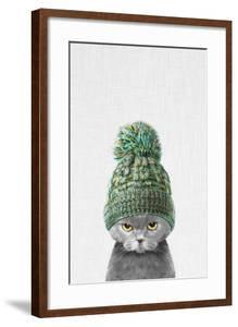Kitten Wearing a Hat by Tai Prints