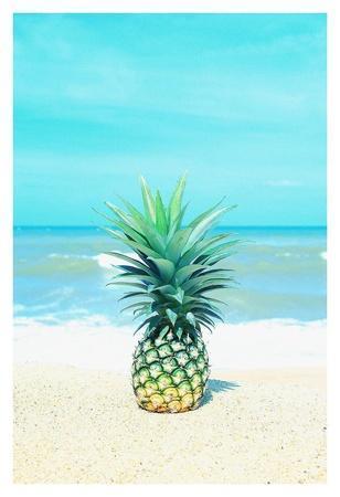 Pineapple on the Sand