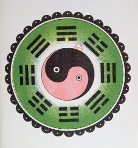 Taijitu, Traditional Symbol Representing the Principles of Yin and Yang