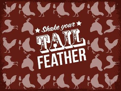 Tail Feather--Giclee Print